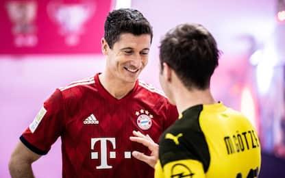 In Germania si gioca: Supercoppa alle 20.30 su Sky