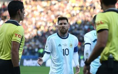 Messi, 3 mesi di stop per l'attacco alla Conmebol