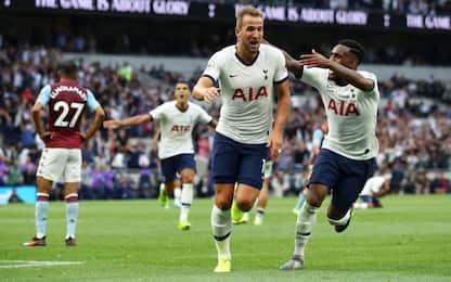 Tottenham, 3-1 in rimonta al Villa: doppietta Kane