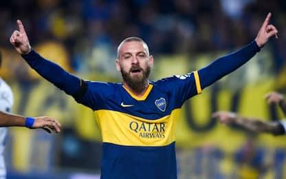 De Rossi show: gol all'esordio con il Boca. VIDEO