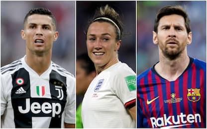 Premi Uefa: calciatori e calciatrici candidati