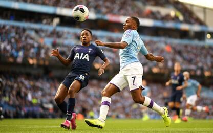 Il City domina ma non vince: 2-2 con il Tottenham