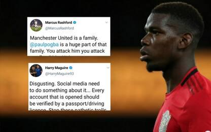 Insulti razzisti per Pogba. Compagni lo difendono