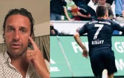 """Fiorentina, Toni su Ribery: """"Matto, ma leader"""""""