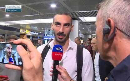 """Zappacosta: """"Roma è casa mia, c'è tanta passione"""""""