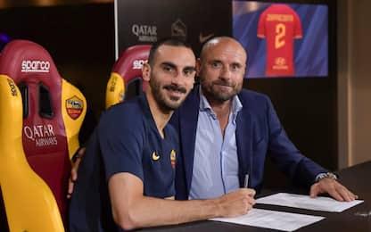 Roma, Zappacosta firma: ha scelto il numero 2