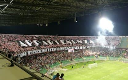 Palermo saluta la nuova squadra, 20mila al Barbera