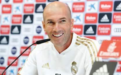 """Zidane: """"Dal mercato arriveranno uno o due colpi"""""""