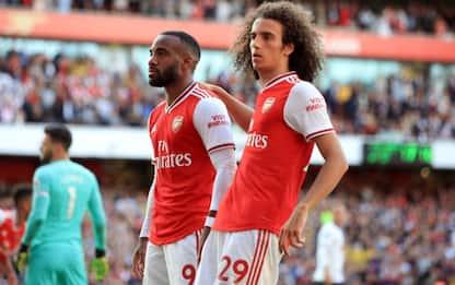 L'Arsenal in rimonta, col Tottenham finisce 2-2