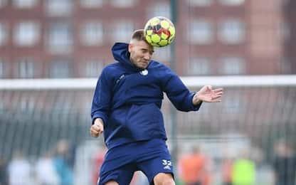 Bendtner, flop in allenamento: sbaglia tutto VIDEO