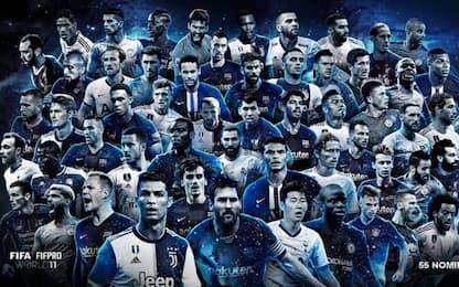 I 55 candidati alla top XI Fifa, c'è Chiellini