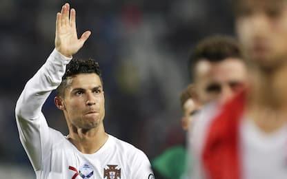 Infinito CR7, tutti i suoi record col Portogallo