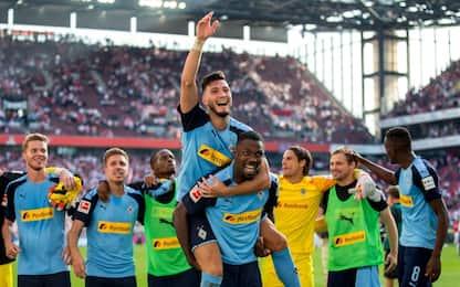 Gladbach, 1-0 nel derby col Colonia: decide Plea