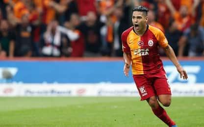 Falcao, esordio da favola con il Galatasaray