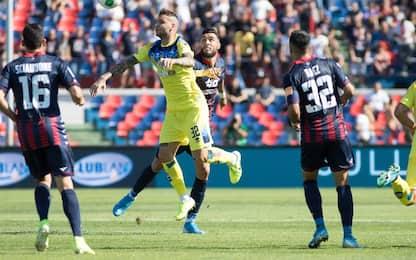 Galano gela il Cosenza, 0-0 tra Crotone ed Empoli
