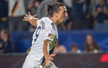 Galaxy, tripletta e record di gol per Ibrahimovic