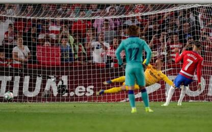 Il Barça cade ancora, 2-0 a Granada. Flop Atletico