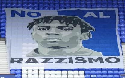 L'Everton contro il razzismo, il simbolo è Kean