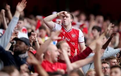 Arsenal, match posticipato per aspettare i tifosi