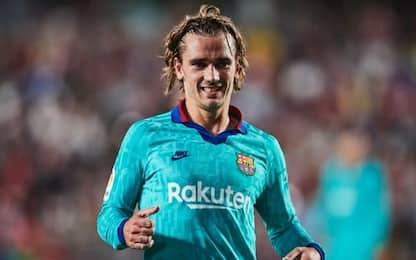 Barça, 300 euro di multa per l'affare Griezmann