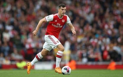 Arsenal, la squadra ha scelto: Xhaka capitano