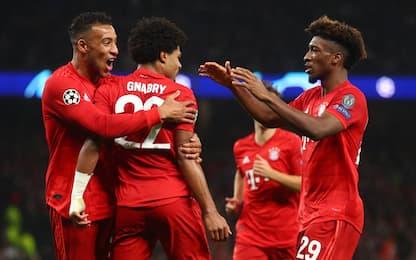 Spurs travolti dal Bayern: 7-2! Icardi-gol, Psg ok