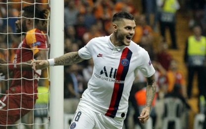 Icardi, il primo gol con il PSG. VIDEO