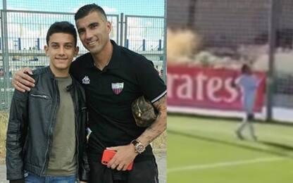 Reyes, il figlio gli dedica primo gol con il Real