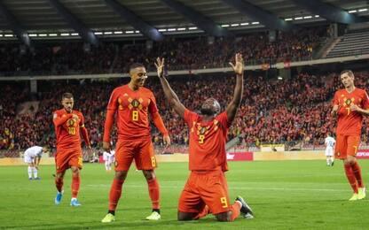 Lukaku da record, Belgio qualificato agli Europei