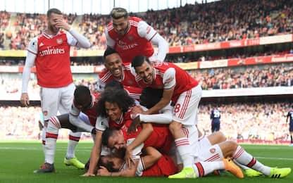 Arsenal-Bournemouth 1-0