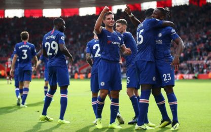 Southampton-Chelsea 1-4