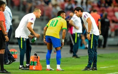 Brasile-Nigeria 1-1, e Neymar si ferma ancora