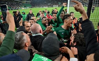 St Etienne-Lione 1-0