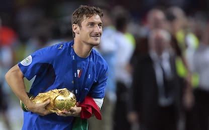 """Totti e la notte pre-Mondiale: """"Carte fino alle 6"""""""