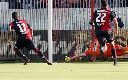 Cagliari, Farias in gruppo: Borriello in dubbio