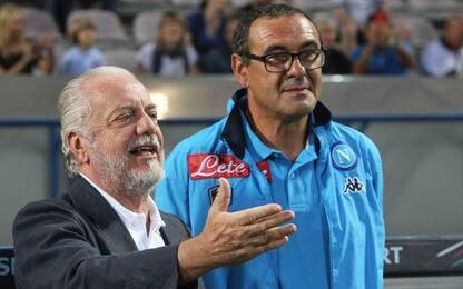 Napoli, ADL attacca Sarri risponde: quanti screzi