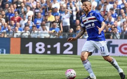 Sampdoria, lombalgia per Palombo