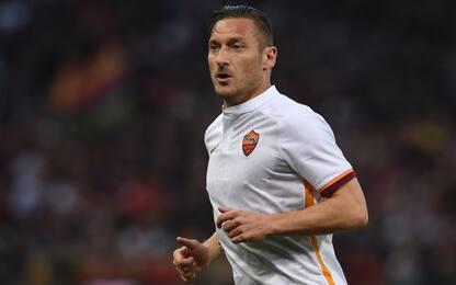 """Totti carica la Roma: """"Si riparte forte, daje!"""""""