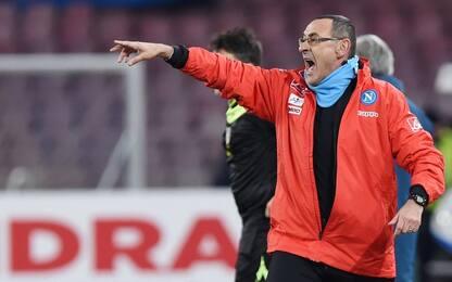 """Napoli, Sarri: """"Tonelli ha saputo aspettare"""""""