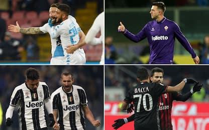 Coppa Italia, spazio agli ottavi: in campo le big