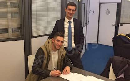 Inter, ufficiale l'arrivo di Gagliardini