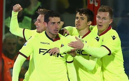 Bologna, decide Dzemaili: Crotone battuto 1-0