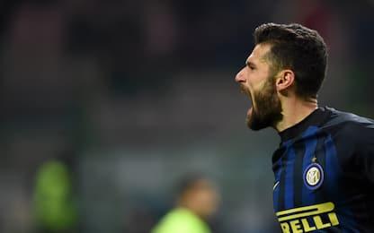 """Inter, Candreva sfida la Juve: """"Ce la giochiamo"""""""