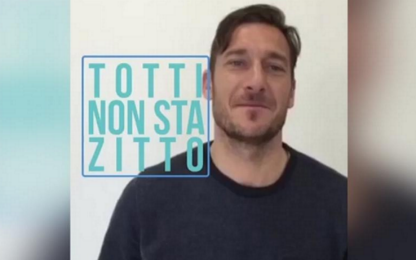 Bullismo, scende in campo Totti