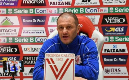 "Vicenza, Bisoli: ""SPAL test importante, noi ok"""