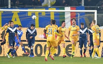 Ariaudo stende il Brescia: Frosinone da primato