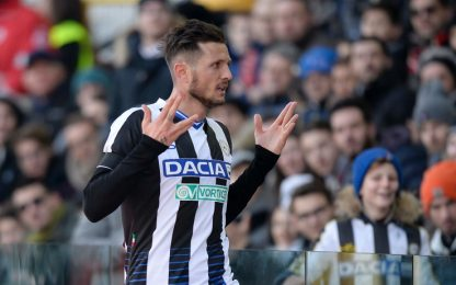 Udinese, out Gnoukouri. Differenziato per Thereau