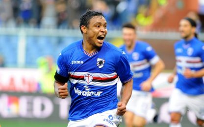 """Sampdoria, Muriel: """"Non molliamo mai"""""""