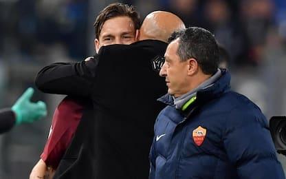 """Roma, Spalletti: """"Il rigore c'era, Perotti out"""""""