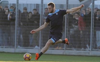 Lazio Biglia e de Vrij in gruppo. Marchetti out